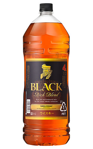 【4000ml】ブラックニッカ リッチ ブレンド ニッカウイスキー ブレンデット ウイスキー 正規品 4000ml 40% ハードリカー 4L 4LBLACK NIKKA RICH BLEND NIKKA WHISKY BLEND WHISKY 4000ml 40%