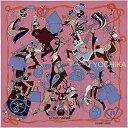 """【30万以上1万OFFクーポン★】HERMES エルメス スカーフ カレ70 """"Le Bal Masque"""" ローズウッドXブルー シルク100% 新品未使用 (HERMES Carre 70 Scarf """"Le Bal masque"""" Rose Wood/Bleu Silk100% [Never used])"""