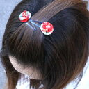 Japanese traditional hairpins 2 book set / rose ★ auktn10P18Oct13