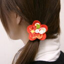 京舞 flowers and auktn10P18Oct13 flower hair Bobbles