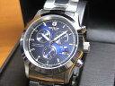 ショッピング文字盤カラー スイスミリタリー 腕時計 エレガント クロノ ML245 メンズ 40mm  【文字盤カラー ブルー】 ☆日本全国=北は北海道、南は沖縄まで送料580円でお届けけします☆