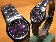 スイスミリタリー 腕時計 SWISS MILITARY ペアウォッチ エレガント ペアウォッチ 【文字盤カラー パープル】