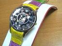 ショッピング文字盤カラー リトモラティーノ 腕時計 FINO (フィーノ) マルチカラーベルト レディースサイズです。【文字盤カラー ブラック】メンズもあります  ★日本全国=北は北海道、南は沖縄まで送料0円 【送料無料】でお届けけします★