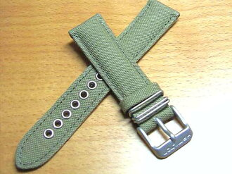 Khaki series genuine watch band Hamilton Khaki King Day date for replacement band Green Green there are other textile fabric watch belt Watch: 18 mm 20 mm )