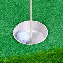 旗竿付き ゴルフカップ 台座