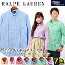 RALPH LAUREN ラルフローレン ワンポイント ボタンダウン ギンガムチェックシャツ 323 196829 長袖 全7色メンズ(男性用) 兼 レディース(女性用)