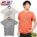 送料無料 55ディーゼル 55DSL T-INKAN Tシャツ 05D2JW 55705 半袖 全3色クルーネック Uネックメンズ(男性用)