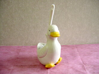 Interior lifestyle - toilet brush series - cute duck toilet brush