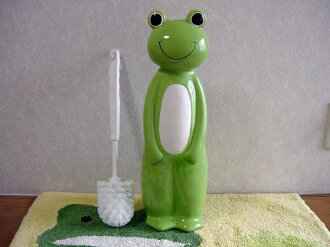 Interior lifestyle - toilet brush series - cute frog toilet brush