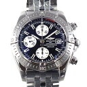 Brightman ring BREITLING Kurono mat evolution A13356 self-winding watch men black chronograph