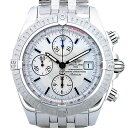 Brightman ring BREITLING Kurono mat evolution A13356 self-winding watch men silver