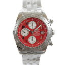 Breitling BREITLING chronometevolution A13356 self-winding chronograph mens red Arabic