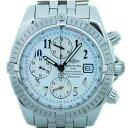 Brightman ring BREITLING Kurono mat evolution A13356 self-winding watch men white Arabia