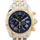 Breitling BREITLING chronometevolution c156b21p.c automatic self-winding K18 duo men's Black Roman dial