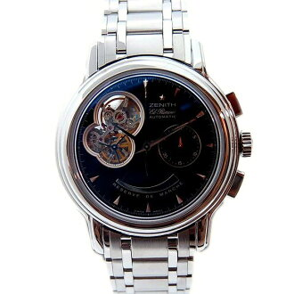 Zenith ZENITH Kurono master T open 03.0240.4021/21.M240 L primero 40mm black new article