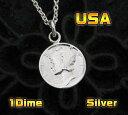 今だけ!コイン 本物のアメリカのコインペンダント(2)/ 【メイン】/ネックレス(メンズ)(レディース)送料無料!