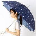雨傘(長傘)【UV加工】猫/ドット(レディース)/ポールアンドジョーアクセソワ