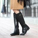 【アウトレット】[筒まわりが選べる]晴雨兼用ロングブーツ/グランドフルール(grandfleur)【boots1017】