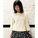 袖刺繍パーカー/マジェスティックレゴン(MAJESTIC LEGON)【dl】0101marui