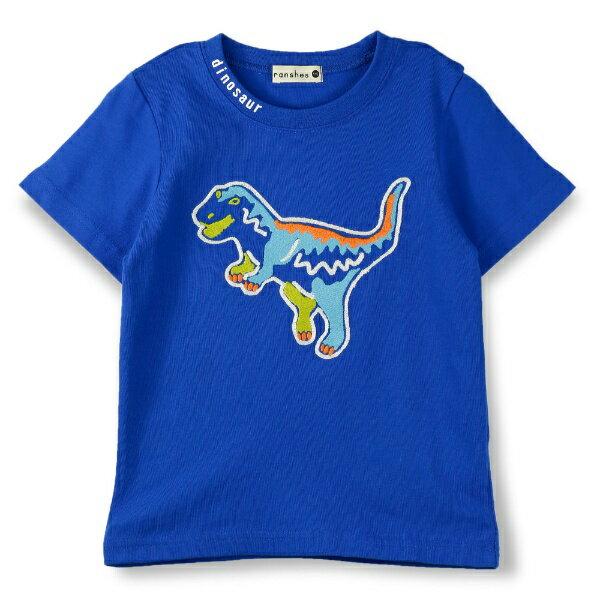 恐竜モチーフ半袖Tシャツ/ブランシェス(branshes)