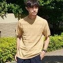 SC: ランダムボーダー ニット Tシャツ/シップス