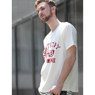 ドゥニーム(【MadeInJapan】BASIC CUTSEW/ベーシックカットソーKENTUCKYプリントクルーネックTシャツ)/ドゥニーム(メンズ)(Denime)