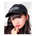 サテンロゴCAP/アナップキッズ&ガール(ANAP KIDS&GIRL)