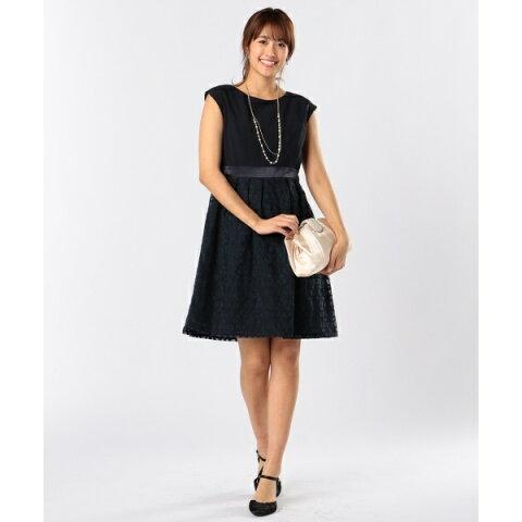 フローラルオーガンジー ドレス/エニィスィス(any SiS)