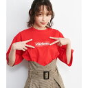 【ViS×高橋愛】VISDESUロゴTシャツ/ビス(ViS)