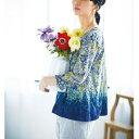 サニークラウズ 華やかな花が好きトップス/フェリシモ サニークラウズ(Sunny clouds)