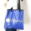 【WEB限定】LOGO TOTE/ハイパーブルーC/レスポートサック(LeSportsac)
