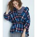 【SALE】アソートチェックルーズシャツ
