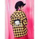 【Betty Boop?】チェックシャツ/セシルマクビー(CECIL McBEE)