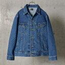 LEE: RIDER デニムジャケット/シップス ジェットブルー(SHIPS JET BLUE)