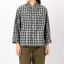 【DANTON】カバーオールシャツジャケット PPL WOMEN/ビショップ(レディース)(Bshop)