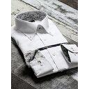 形態安定80双スリムフィットボタンダウン長袖ビジネスドレスシャツ/タカキュー(TAKA-Q)