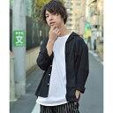 長袖オープンカラーシャツ/ジップファイブ(ZIP FIVE)