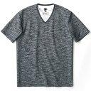 【LION HEART×MEN'S BIGI】コラボVネックTシャツ/メンズビギ(MEN'S BIGI)