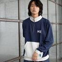 【WEB限定】MEI(メイ)別注ハーフジップスウェット/コーエン(メンズ)(coen)