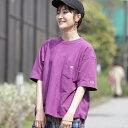 Champion × BEAMS BOY / 別注 リバースウィーブ ポケット Tシャツ/ビームス ボーイ(BEAMS BOY)