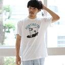 fLAnsisCA × BEAMS / 別注 プリント Tシャツ2/ビームス(BEAMS)
