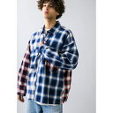 <monkey time> SWITCHING OMBRE CHECK SHIRT/オンブレチェック/モンキータイム(monkey time)