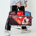ショッピングレスポート・サック LARGE WEEKENDER/コカコーラ ゴーズ アロング/レスポートサック(LeSportsac)