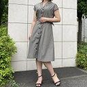 開襟シャツワンピース/ミューズ リファインド クローズ(MEW'S REFINED CLOTHES)