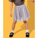 【100‐130?】ストライプ/チェック インナーパンツ付スカート/エニィファム キッズ(any FAM KIDS)