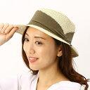 ショッピング帽子 【アルファキュービック】ペーパーブレードカンカン帽(レディース/ブレード/帽子/春夏)/ジャックポット(Jackpot)