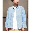 ダンガリーシャツジャケット/シェアパーク メンズ(SHARE PARK MENS)