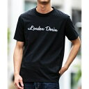 【London Denim】16/-空紡糸 天竺 / 3Dロゴ 刺繍 Tシャツ/A・S・M(A.S.M)