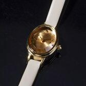 カラーガラス革ベルトウォッチ【AGETEF6BR時計】/アガット(agete)