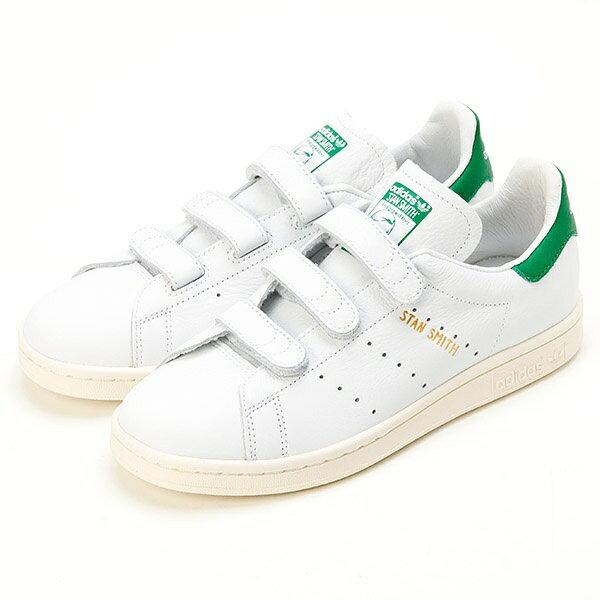 【adidas】STANSMITH CF KDM90 WHT/GRN/ビショップ レディース(Bshop)